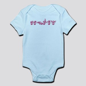 Ashley-ASL only Infant Bodysuit