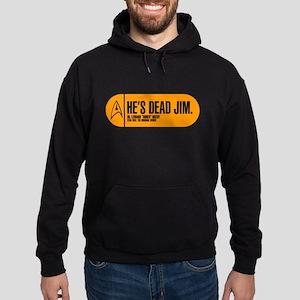 He's Dead Jim Hoodie (dark)