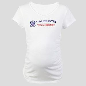 1st Bn 16th Infantry Maternity T-Shirt