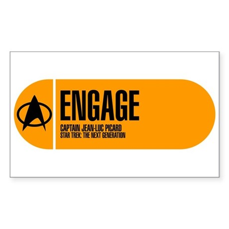 Engage Sticker (Rectangle)