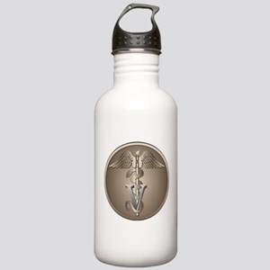 Veterinarian Caduceus Stainless Water Bottle 1.0L
