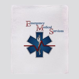 EMS Life Line Throw Blanket
