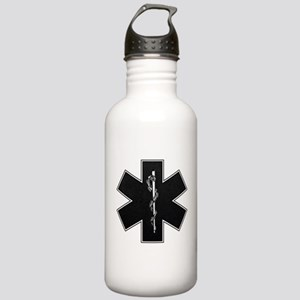 Star of Life(BW) Stainless Water Bottle 1.0L