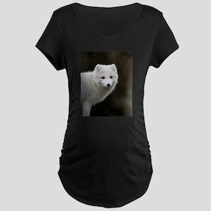 Arctic Fox Maternity Dark T-Shirt