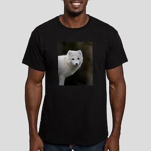 Arctic Fox Men's Fitted T-Shirt (dark)