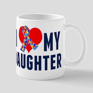 Autism Daughter 11 oz Ceramic Mug