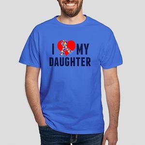 Autism Daughter Dark T-Shirt