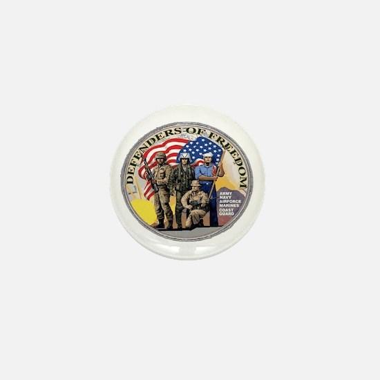 FREEDOM DEFENDERS Mini Button