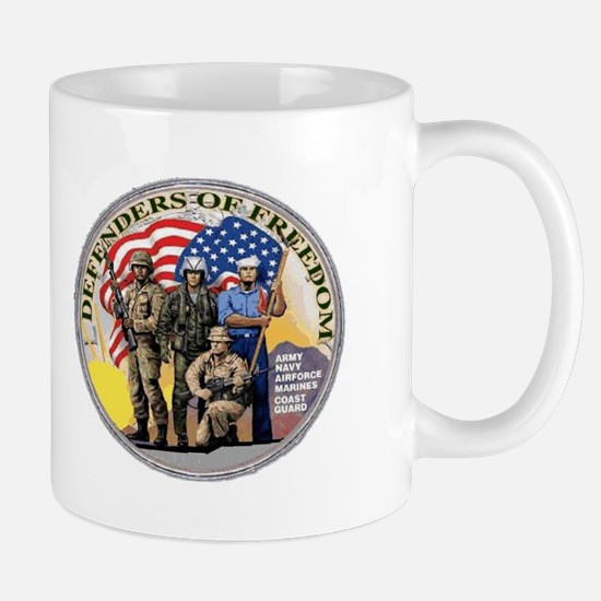 FREEDOM DEFENDERS Mug