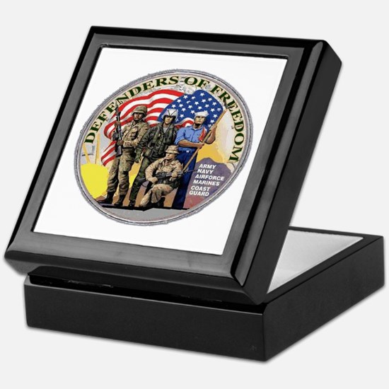 FREEDOM DEFENDERS Keepsake Box