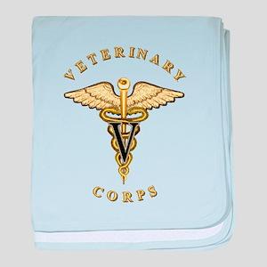 US Army Veterinary baby blanket