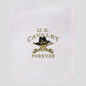 Cavalry Forever Throw Blanket