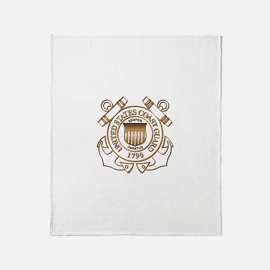 USCG Throw Blanket