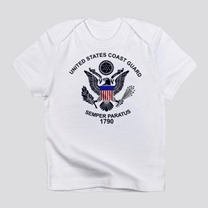 USCG Flag Emblem Infant T-Shirt
