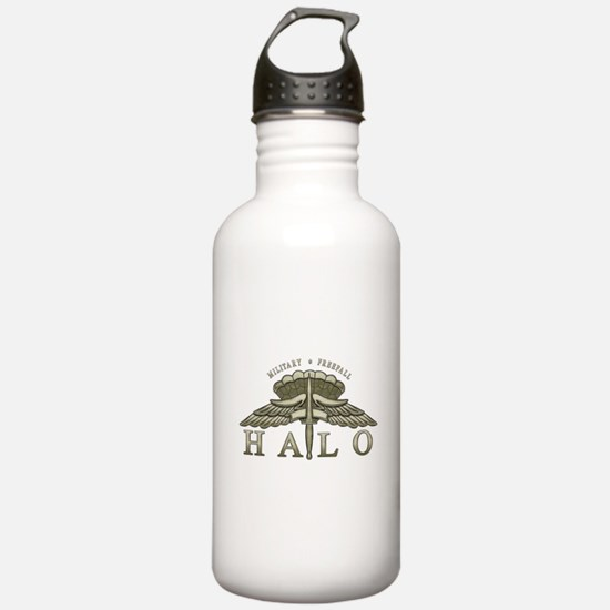 Halo Badge Water Bottle