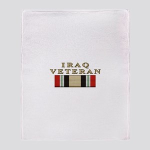 Iraq Vet Throw Blanket