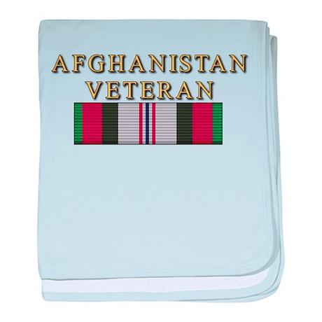 Afghanistan Vet baby blanket