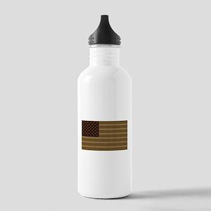 US Flag Desert Patch Stainless Water Bottle 1.0L