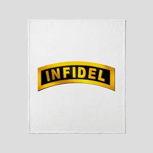 Infidel Tab Throw Blanket