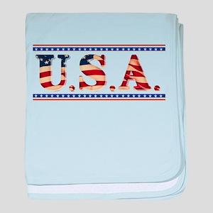 USA Stars/Strips baby blanket