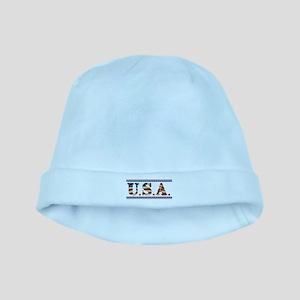 USA Stars/Strips baby hat