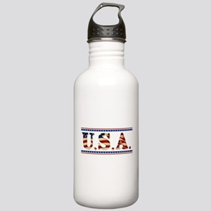 USA Stars/Strips Stainless Water Bottle 1.0L