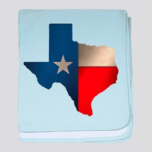 State of Texas baby blanket
