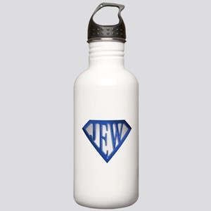 Super Jew(blue/white) Stainless Water Bottle 1.0L