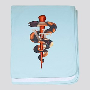 Veterinary Tech baby blanket