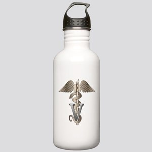 Veterinary Caduceus Stainless Water Bottle 1.0L