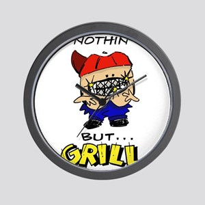 Nothin' But...Grill Wall Clock