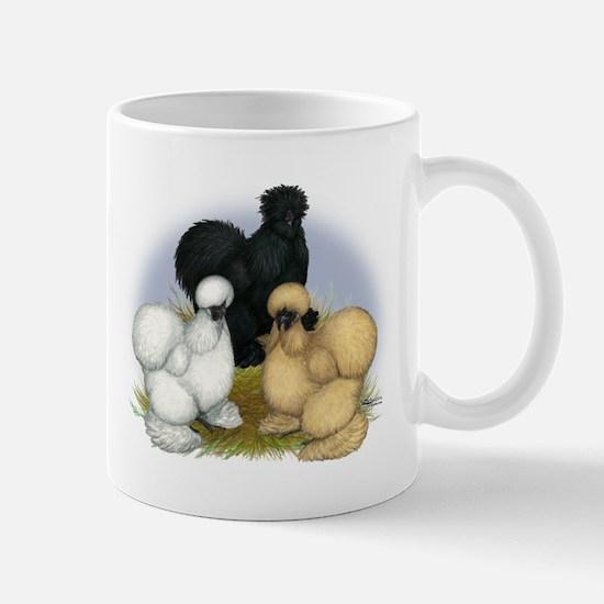 Silkie Chicken Trio Mug