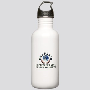 Chaplain Shirts 2 Stainless Water Bottle 1.0L