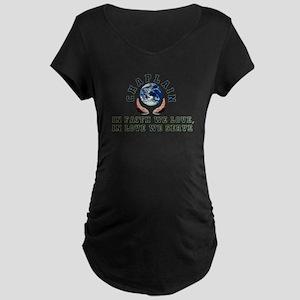Chaplain Shirts 2 Maternity Dark T-Shirt