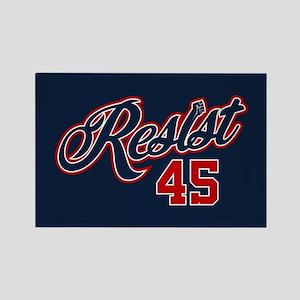Resist 45 Rectangle Magnet