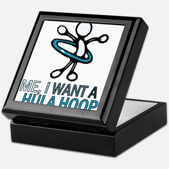 Hula Hoop Keepsake Box