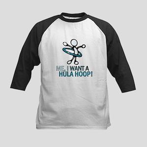 Hula Hoop Kids Baseball Jersey