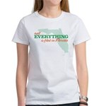 not everything is flat in flo Women's T-Shirt