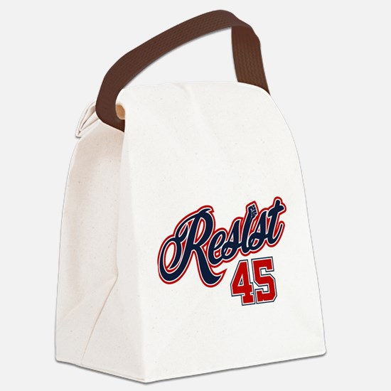 Resist 45 Canvas Lunch Bag