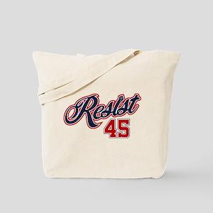 Resist 45 Tote Bag