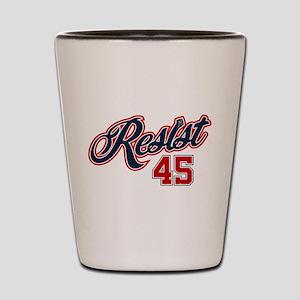 Resist 45 Shot Glass