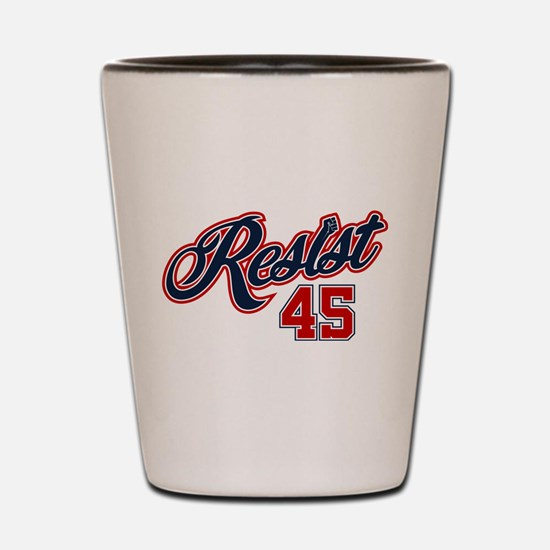 Resist 45 Shot Glass