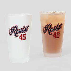 Resist 45 Drinking Glass