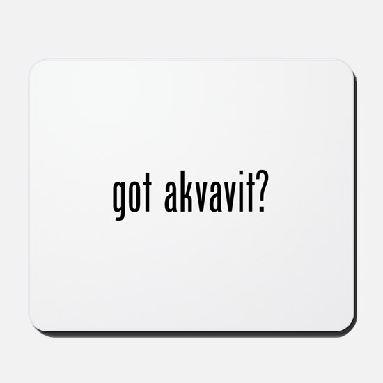 Got Akvavit Mousepad