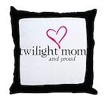 Proud Twilight Mom Throw Pillow