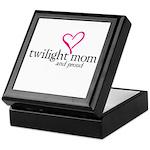 Proud Twilight Mom Keepsake Box