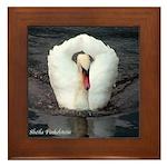 Swan #2 - Framed Tile