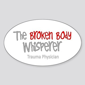 Physicians Sticker (Oval)