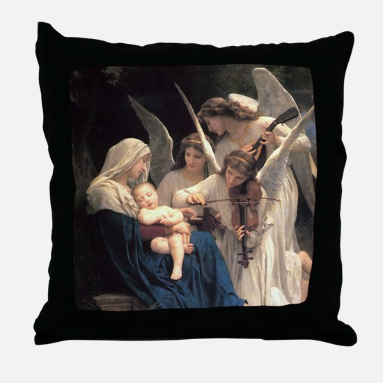 Unique The virgin mary Throw Pillow