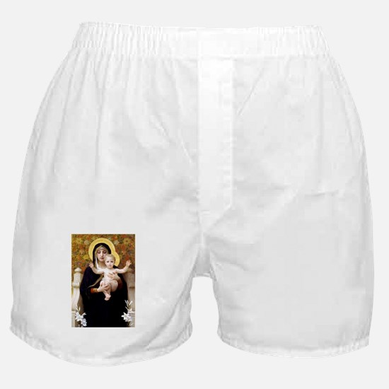 Funny Lilies Boxer Shorts